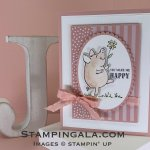 This little Piggy stamp set, thinking of you, Stampin