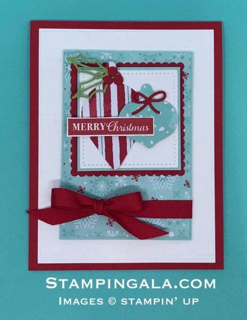 Christmas Gleaming Christmas Card