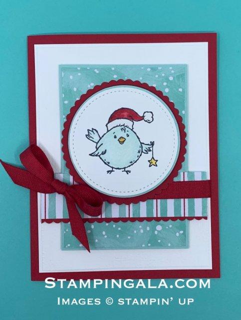 Birds of a Feather Christmas Card