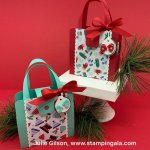 12 Days of Christmas - Day #7, Chistmas treat purses