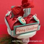 12 Days of Christmas, Mini Curvy Keepsakes Die, treat holder & holder
