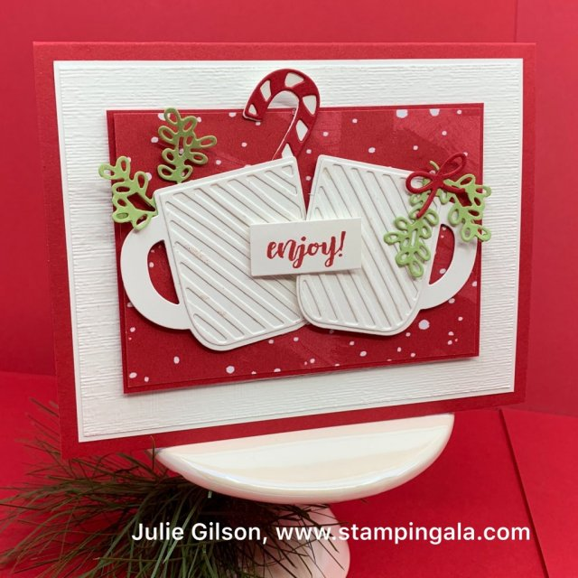 Cup of Christmas projects, Christmas Card, Treat Holders, Treat Pouches, Cup of Cheer