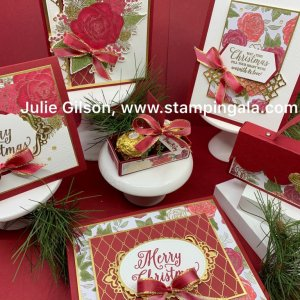 Christmastime is here bundle, treat holders, cards & boxes