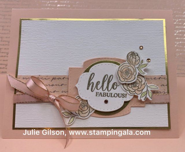Greeting cards and mini purse created with Stampin' Up's! Dressed to Impress bundle. #birthday card, #Mother's Day, #Valentine's Day
