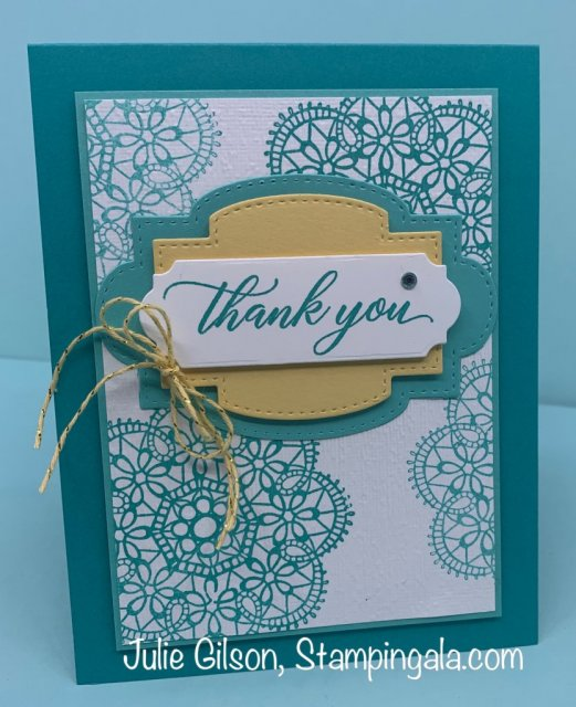 Birthday & Thank You cards using the Wish for it All Bundle. #Stampin' Up, #Stampin' Gala, #Birthday Card, #Thank You Card, #3D, #Paper Crafts