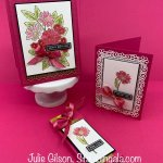 Birthday card & Thank you card created using the Ornate Garden Suite. #Stampin