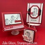Birthday cards and treat holder using the Zany Zebras stamp set. #Stampin