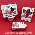 Pampered Pets Trio of projects created with Stampin