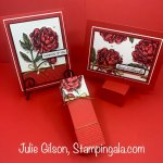 Great tips on how to get more mileage out of your embossing folders. #Prized Peony, #Stampin