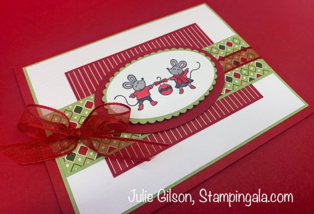 Christmas cards and gift card holder created with the Warm & Toasty stamp set. #Stampin' Up, #Stampin' Gala, #Heartwarming Hugs, #Handmade Cards